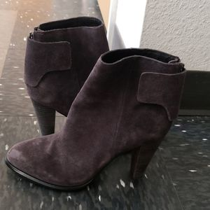 French connection grey suede boot